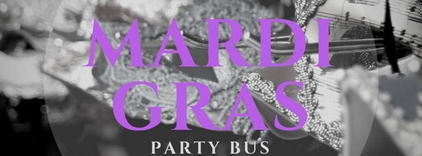 Mardi Gras 2019 Party Bus