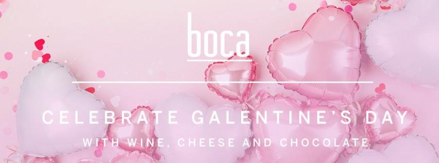 Galentine's Day: Wine, Cheese and Chocolate