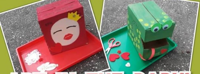Valentine's Box Paint & Play | Art In The Park Orlando