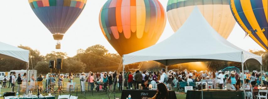 FREE Austin Hot Air Balloon Festival & Balloon Rides