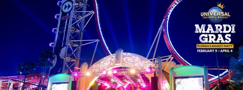 Gavin Degraw at Universal Mardi Gras | 2/16