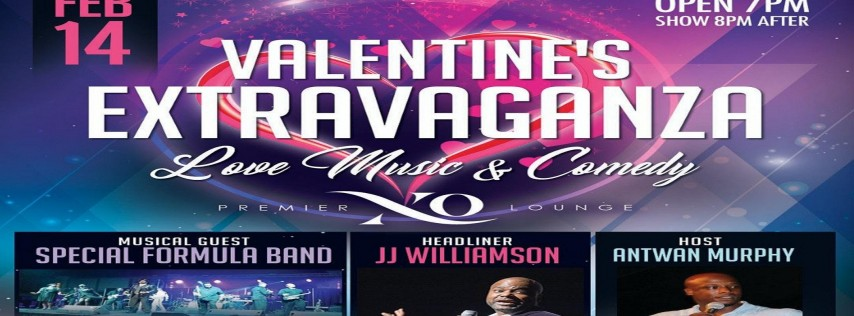 Valentine's Extravaganza with JJ Williamson