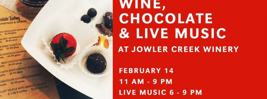 The Perfect Valentine's Pairing – Wine, Chocolate & Live Music