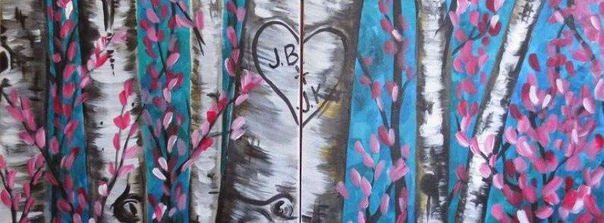 Valentine's Date Night Paint & Sip Party!