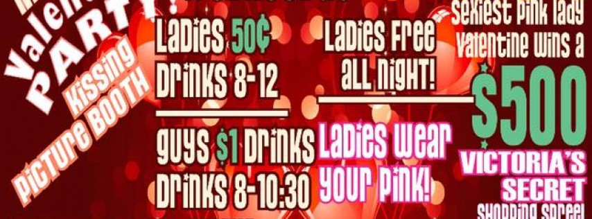 Ladies Night Valentine Party at Denim and Diamonds