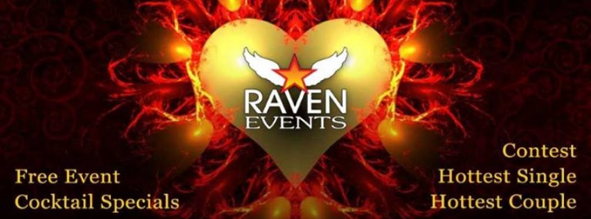 Raven Events - Red Hot Valentines Party with Ashley Red