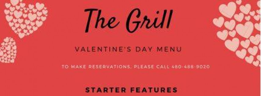 The Grill Valentine's Day Dinner