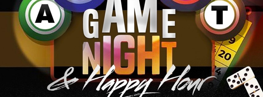 ADULT HAPPY HOUR & GAME NIGHT