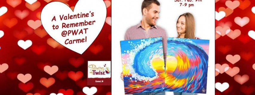 Surprise your Valentine early with a painting party!