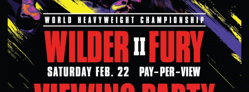 Wilder vs. Fury II Viewing Party at Mac's Wood Grilled
