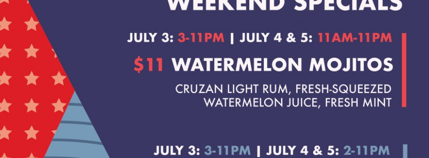 4th of July Weekend at Tuman's Tap & Grill