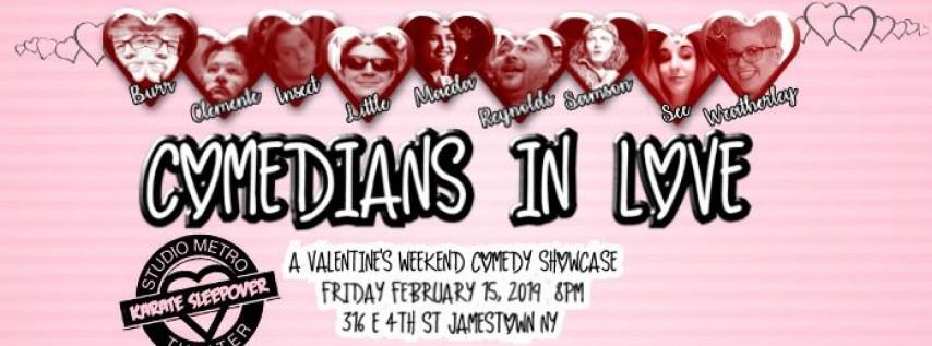 Comedians In Love Comedy Showcase