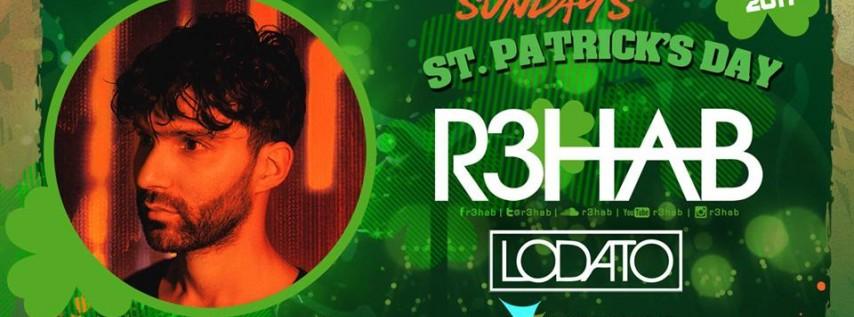 R3HAB / Lodato St. Patricks day Beach house Sunday's