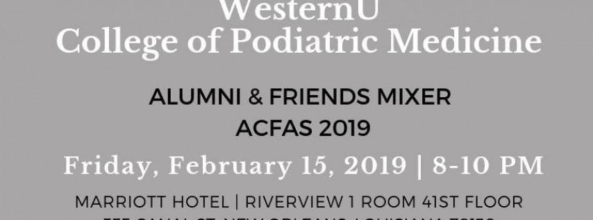 WesternU College of Podiatric Medicine Alumni & Friends Mixer at ACFAS 2019