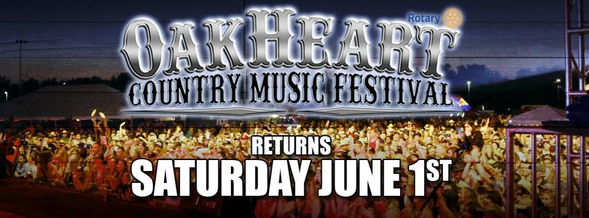 The 2019 OakHeart Country Music Festival