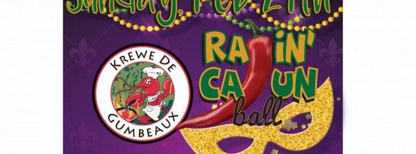 Krewe De Gumbeaux 2nd Annual Ragin' Cajun Ball - Crawfish Boil