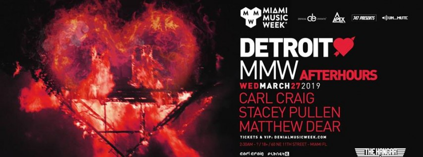 Detroit Love feat Carl Craig, Stacey Pullen, and Matthew Dear