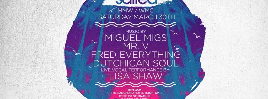 Salted Music Miami 2019 at The Langford Hotel Rooftop
