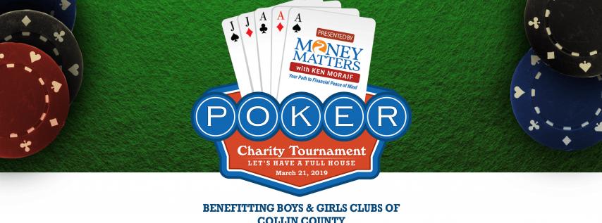 8th Annual Charity Texas Hold'em Tournament