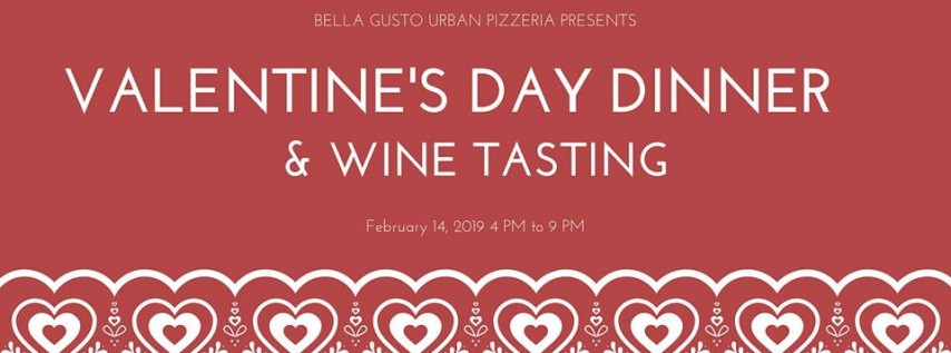 [SOLD OUT] Valentine's Day Dinner & Wine Tasting