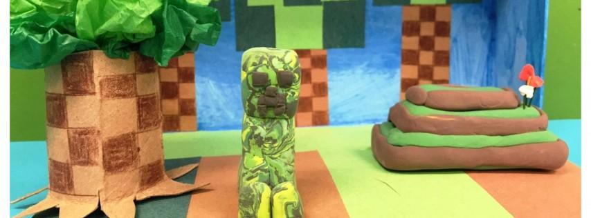 Minecraft & More App Art Summer Camp (5-12 Years)