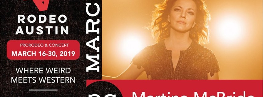 Martina McBride at Rodeo Austin