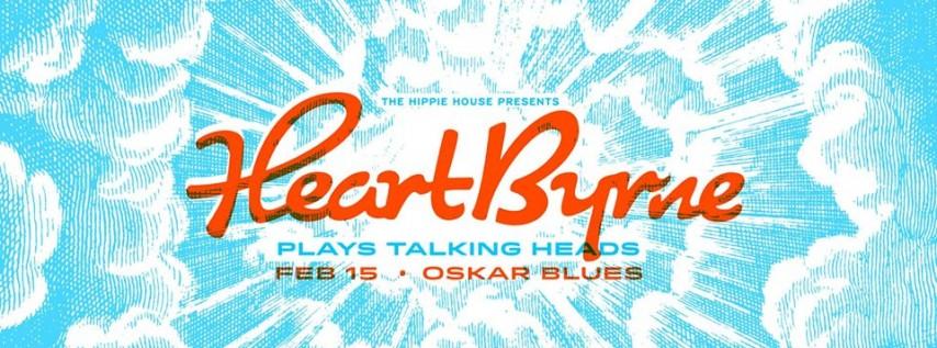 HeartByrne • Talking Heads Tribute at Oskar Blues