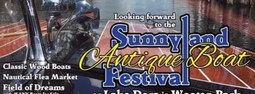 38th Annual Sunnyland Antique and Classic Boat Festival