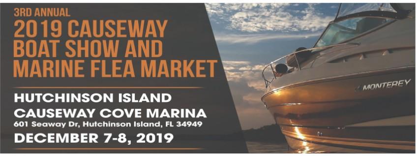 Causeway Boat Show and Marine Flea Market