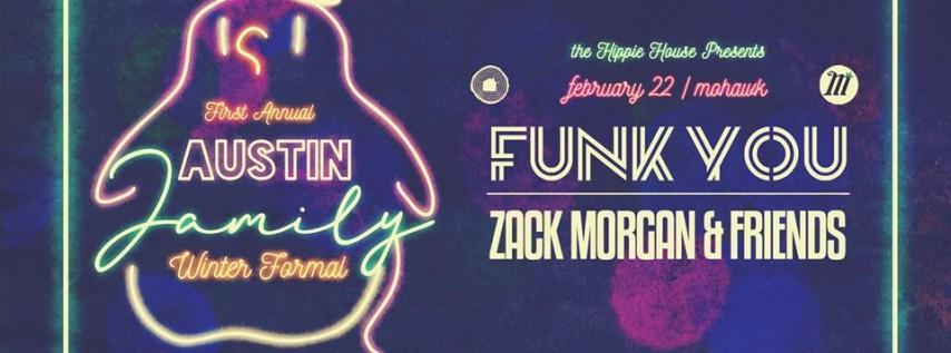 Austin Jamily Winter Formal w/ Funk You & Zack Morgan & Friends