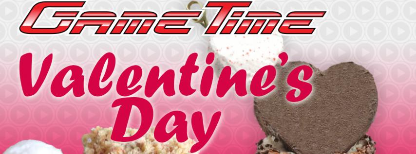 Valentine's Day BOGO at GameTime
