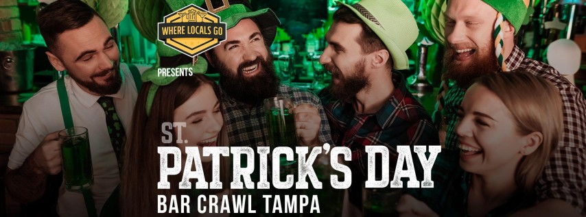 St. Patrick's Day Crawl Tampa 2019