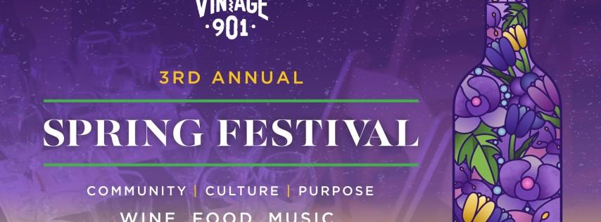 Vintage901 Spring Wine & Food Festival