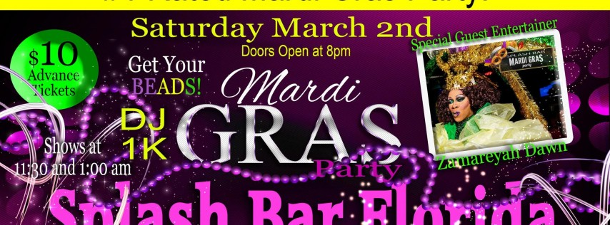 Official Mardi Gras Party 2019