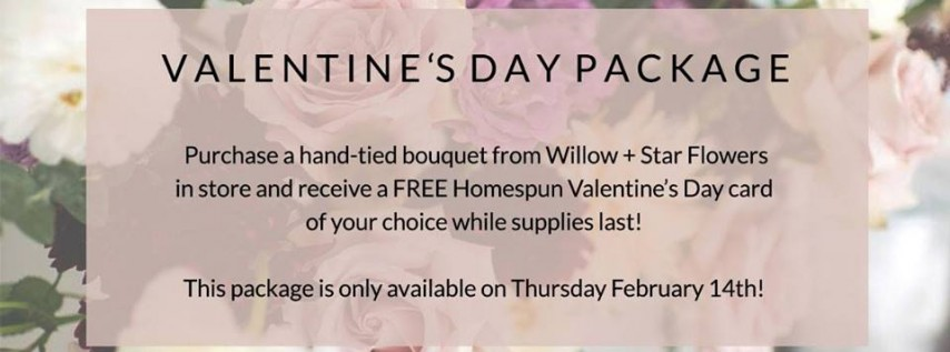 Valentine's Day Package Event