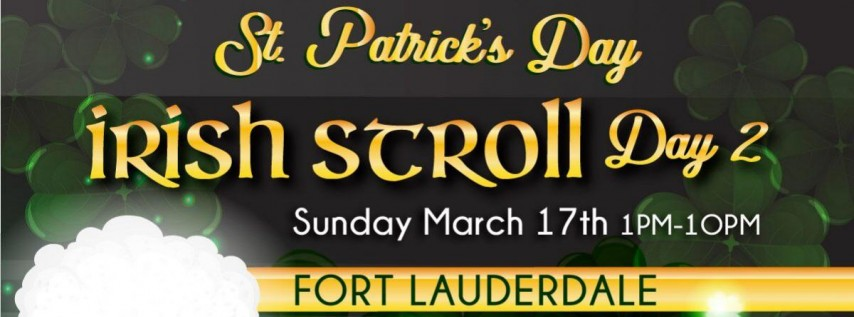 Ft Lauderdale St. Patrick's Day Bar Crawl Day 2
