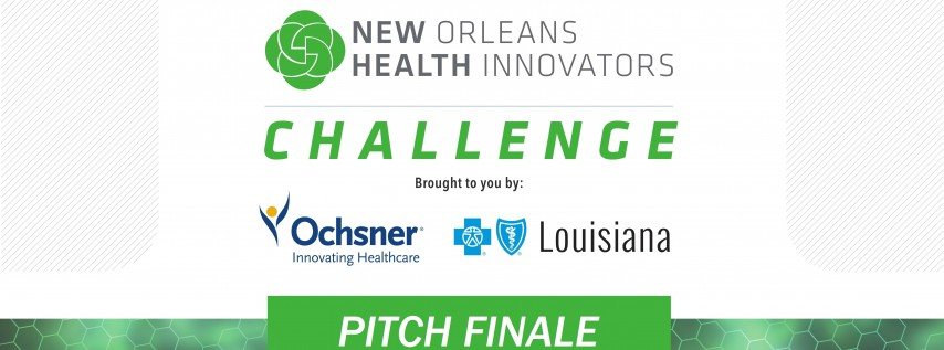New Orleans Health Innovators Pitch Finale Event
