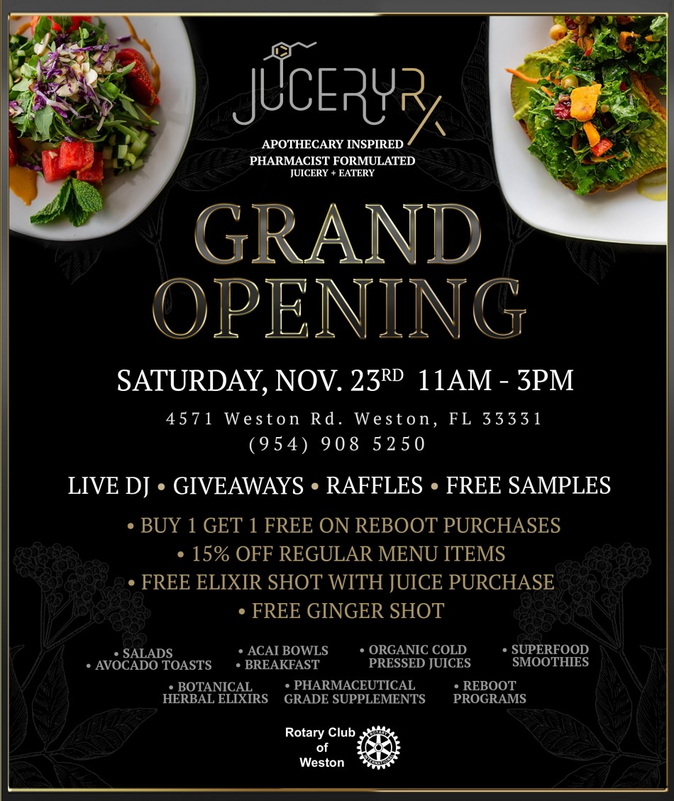 Juicery Rx Grand Opening