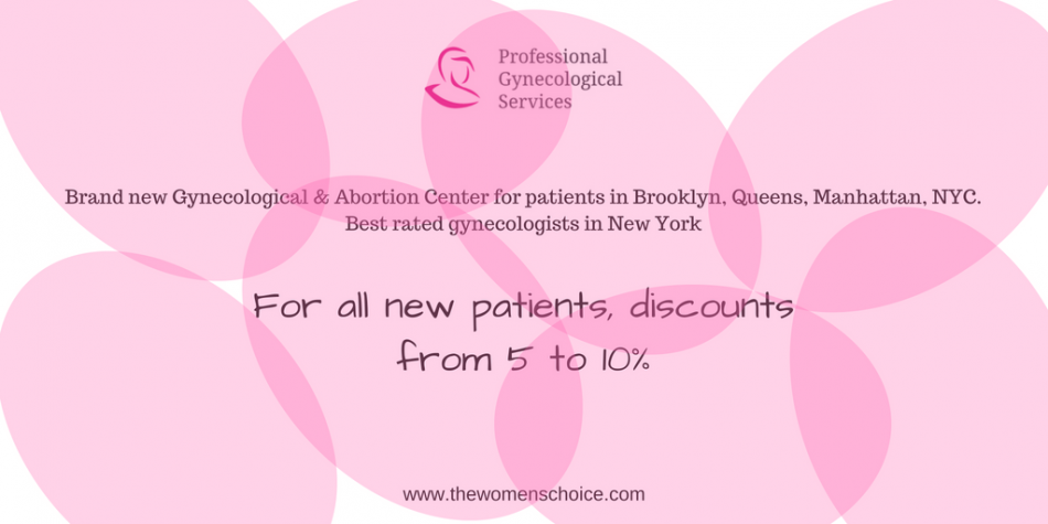 Discount from Professional Gynecological Services