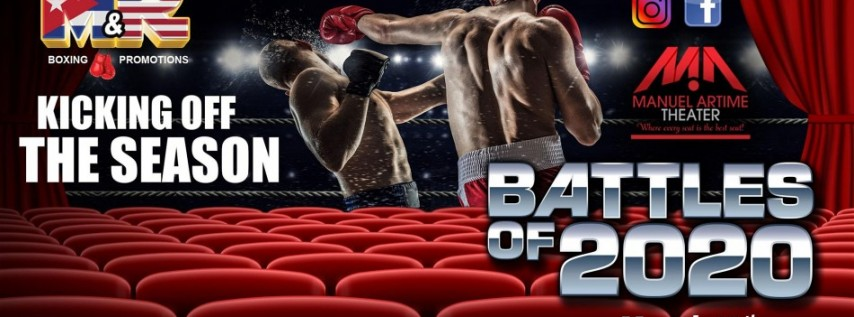 M&R Boxing Promotions Kick Starts the Battles of 2020 Theatre Style