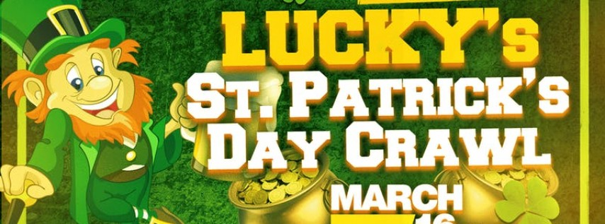 Lucky's St. Patrick's Day Crawl - Fort Lauderdale