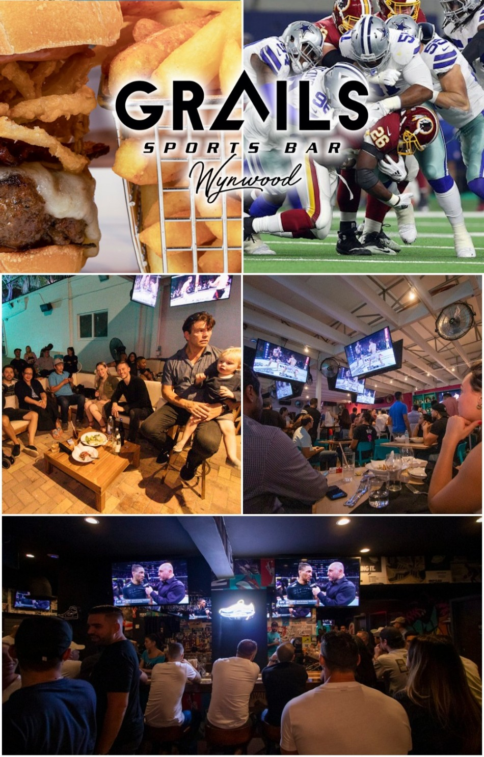 Thanksgiving Day At Grails Sports Bar