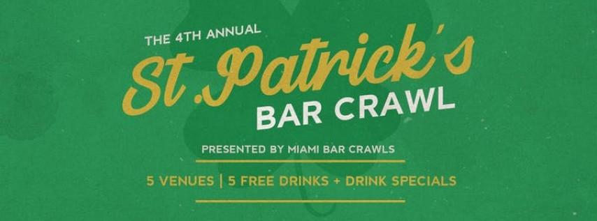 2019 St. Patrick's Day Bar Crawl