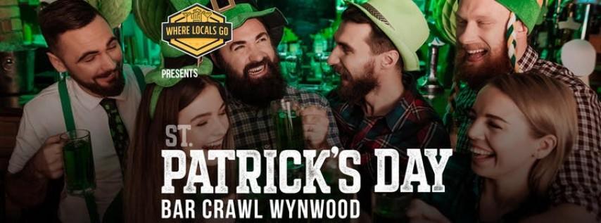2019 St. Patrick's Bar Crawl in Wynwood