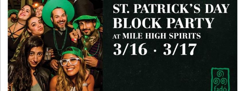 Fadó Irish Pub St Patrick's Day Block Party w/ Mile High Spirits