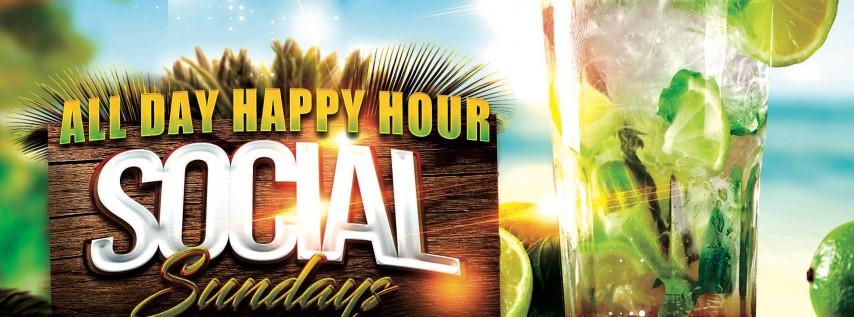Happy Hour Social Sunday's Day party