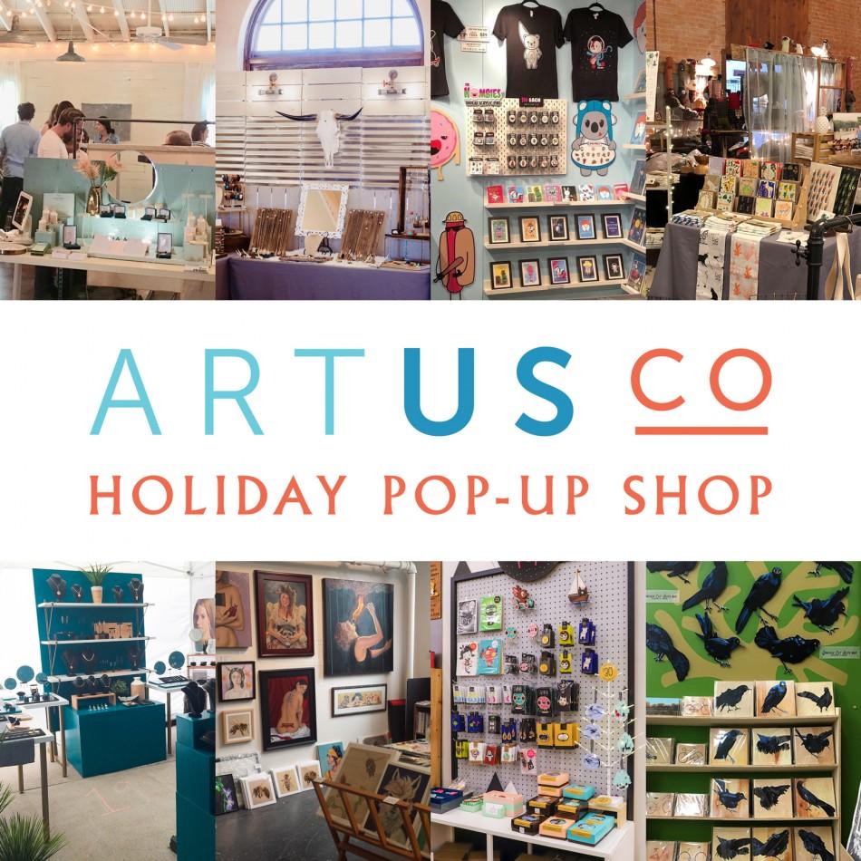 Artus Co Holiday Pop Up Shop