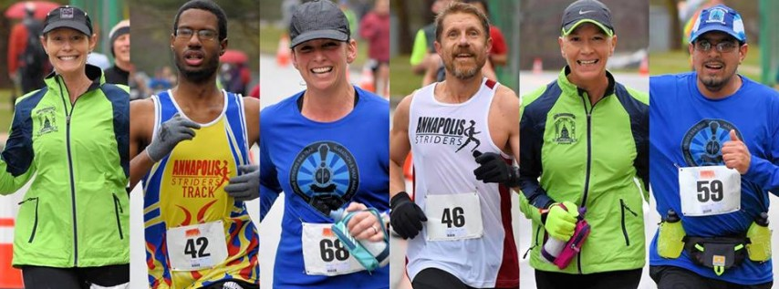 Annapolis Striders at RRCA Ten Mile Club Challenge 2019