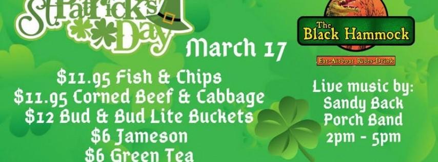 The Black Hammock St Patricks Day Celebration