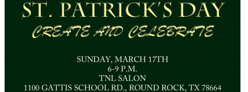 St. Patrick's Day Create and Celebrate